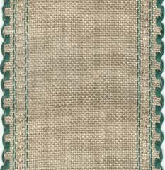 727236 natl brown green border