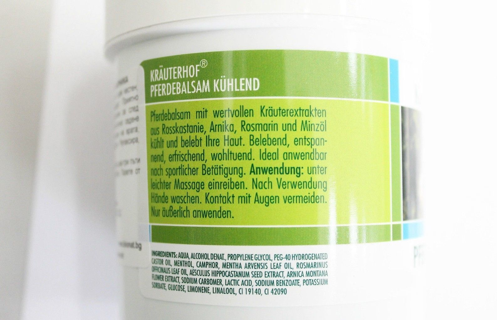 KrauterhoF Pferdebalsam GEL Massage with ARNICA 250 ml Herbal