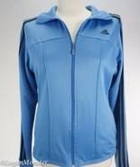 Adidas M Light Blue Full Zipper Track Jacket - $32.00
