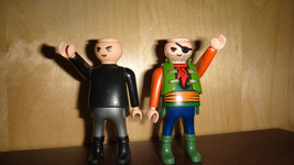 playmobil pirates, two figures, playmobil set of two figures, free shipp... - $4.30