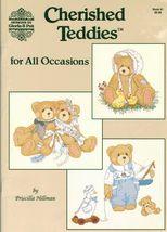 Gloria & Pat Cross Stitch Cherished Teddies All Occasions Bears Patterns - $11.99