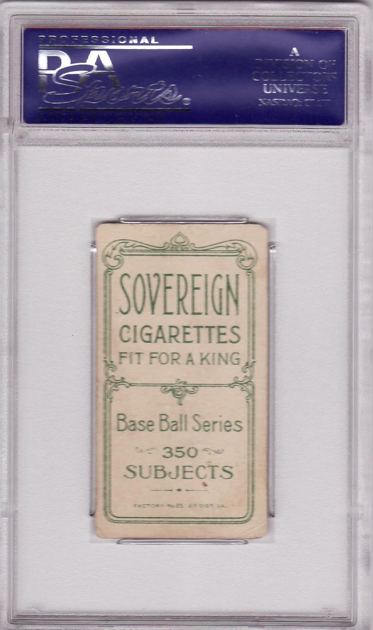 Fielder Jones (Chicago, Portrait) T206 1909 - 1911 Sovereign