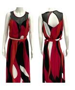 Xoxo women's long maxi dress sleeveless multicolor size M - $17.70