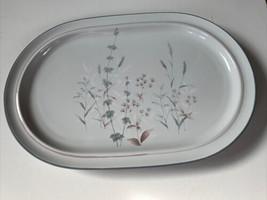 Noritake Stoneware Woodstock Pattern Oval Platter Japan - $25.00