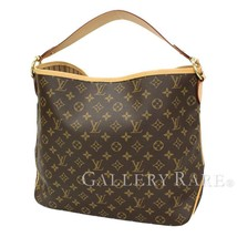 LOUIS VUITTON Delightful PM Monogram Beige Shoulder Bag M50154 Authentic... - $1,192.06