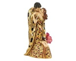 Sculpture Figurine Kiss Lovers Klimt Painting Statue Art Redhead Girl Gift Resin