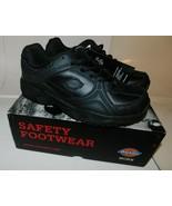Dickies Venue II Black Work Shoes Size 6 Brand New - $34.99