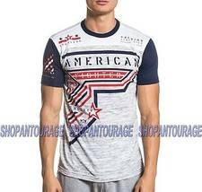 American Fighter Hetland FM8882 Short Sleeve Graphic T-shirt Top By Affliction - $38.27