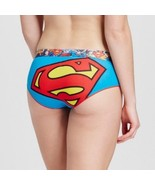 SUPERMAN Themed Ladies Women's Panties Underwear Medium 8-10 NEW - $9.09