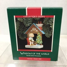 1989 Windows of the World #5 Germany Hallmark Christmas Tree Ornament MI... - $14.36