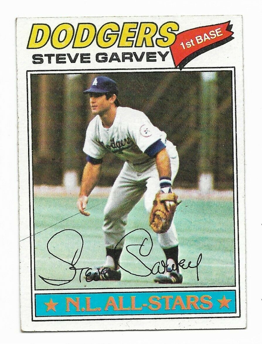 1977 Topps #400 Steve Garvey, Los Angeles Dodgers