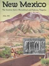1931 July New Mexico Magazine   Carlsbad Caverns & More - $361.43