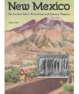 1931 JULY NEW MEXICO MAGAZINE   CARLSBAD CAVERNS & MORE - $361.43