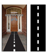 2pk Racetrack Floor Runner Walkway Highway Cars Nascar Race Theme Birthd... - $11.75