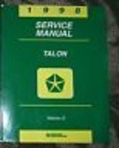 1998 Eagle Talon Service Repair Shop Manual Volume 2 Only Mopar Dealership Book - $5.60