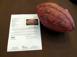 BART STARR BEST WISHES HOF PACKERS SIGNED AUTO WILSON XLVI DUKE FOOTBALL... - $692.99
