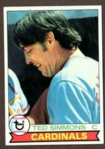 1979 TOPPS BASEBALL #510 TED SIMMONS CARD-ST.LOUIS CARDINALS - $3.91