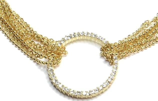 Np33 gold circle tiffany