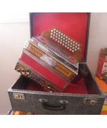 Accordion 4 Row Button Steirische Novak / Helicon Bass Melodija  - €1.788,00 EUR