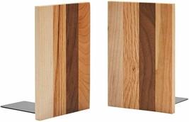 Pandapark Decorative Wood Bookends, 1 Pair, American Spirit image 1
