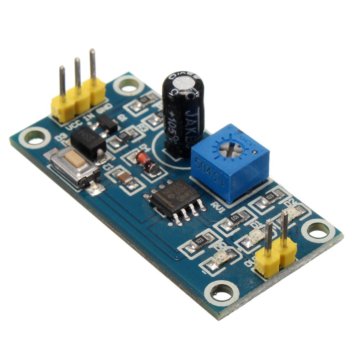 5pcs DC 5-12V Adjustable Delay Timer Switch NE555 Relay Shield Module image 2
