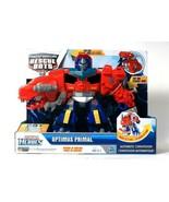Playskool Heroes Transformers Rescue Bots Optimus Primal 20 Sounds & Phr... - $59.99