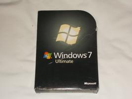 Microsoft Windows 7 Ultimate 32 Bit 64 Bit Excellent Disks  - $24.99
