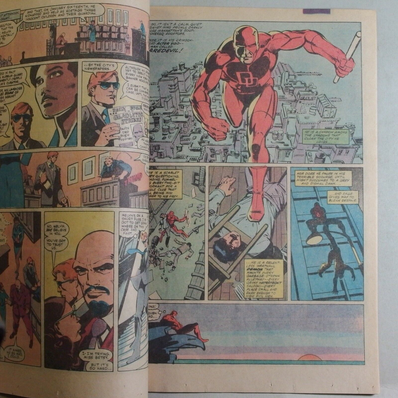 Daredevil #173  NM- (Aug 1981, Marvel) Frank Miller