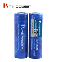 Brillipower Blue 50a 3100mAh 18650 Li-Mn Mod Battery - Efest/Sony/LG Killer - $21.73+
