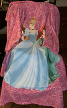 Disney Princess Snuggie Blanket W/sleeves FREE DISNEY PRINCESS SHOPPING BAG - $16.53