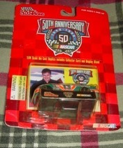 Nascar Collectors Card & Car 50th Anniversary Jerry Nadeau - $17.00