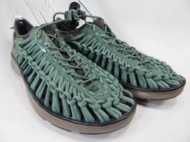 Keen Uneek O2 Sport Sandals Men's Size 9 M (D) EU 42 Green/  Black