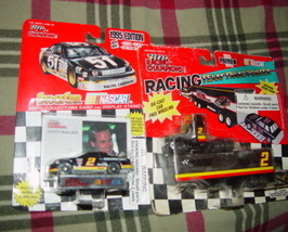 StockCar Nascar Collectors Card & Car Rusty Wallace 1995 & Transporter 2... - $30.00