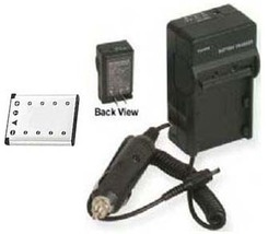 Battery + Charger for Casio EX-Z33 EX-H5BK EX-S8BE EX-S8BK EX-S8PE EX-S8PK - $20.83