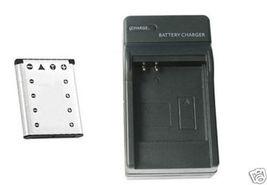 Battery + Charger for Casio EXZ33PK EXZ33SR EXZ33VP - $21.07