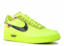 Nike Mens The 10 Air Force 1 Low Volt Volt/Black-Cone Nylon Size 13 - $1,722.25