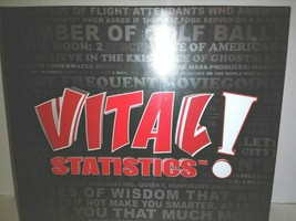Vital Statistics Game of Quirky Knowledge Factory Sealed - $11.88