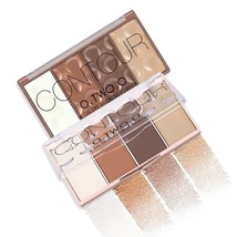 O.TWO.O Contour Palette Makeup Highlight Face Blush Naked Waterproof - $18.30