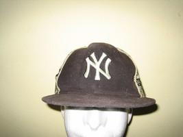 NEW YORK YANKEES BASEBALL HAT CAP ADULT NEW ERA SIZE 7 3/4 MLB NYY MONEY... - $11.00