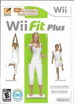 Wii Fit Plus (Nintendo Wii, 2009) Manual Included Game Only - $13.71