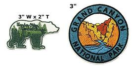 Wander Often Wander Always and Grand Canyon National Park Series 2-Pack Embroide - $7.89