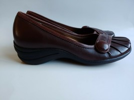 Hush Puppies Sonnet Comfort Slip On Shoes Womens Size 6.5M BROWN - $18.80