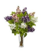 Lilac Silk Flower Arrangement  - $97.13