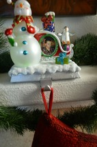 Picture Frame Stocking Holder with Changing Lights - $70.00