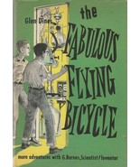 The Fabulous Flying Bicycle by Glen Dines 1960 Children's Book Hard to Find - $39.59