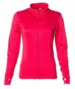 Global Blank Women's Slim Fit Lightweight Full Zip Up Yoga Workout Jacket - $49.99