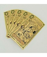 Lot Of 5 - 1 New Hampshire Goldback Gold Foil Note 1/1000 oz 24KT 999 Gold - $30.32