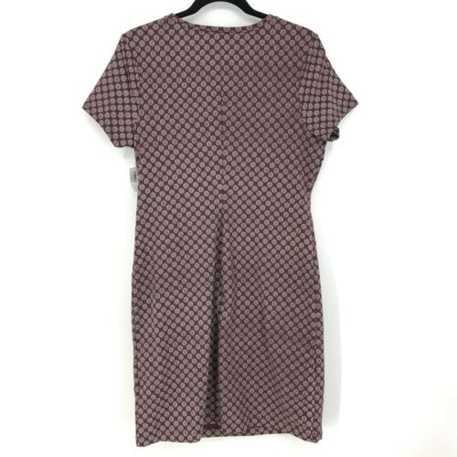 Old Navy Women's Size Large Short Sleeve Knit Tee Dress Getting Figgy Purple NEW