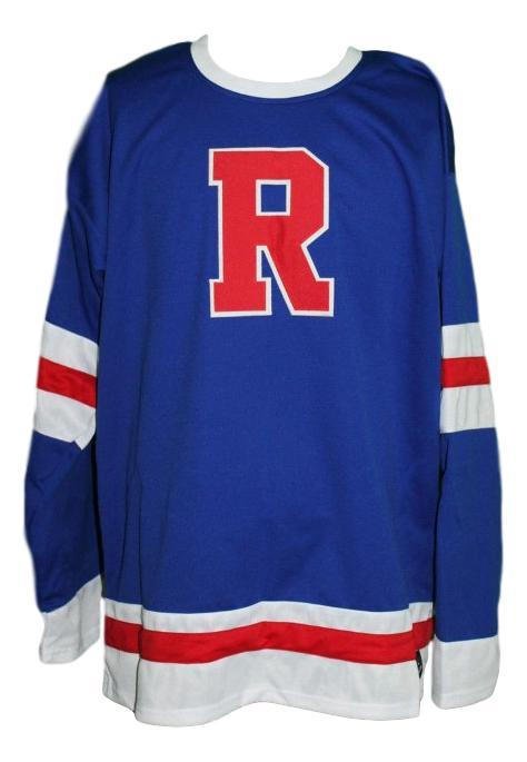 Philadelphia ramblers retro hockey jersey 1938 blue   1