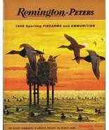 ORIGINAL Vintage 1968 Remington Peters Firearms Ammunition Catalog - $18.55